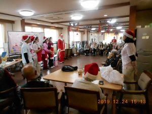 今年もクリスマス会が和やかに開催されました。